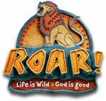ROAR Scripture Camp logo